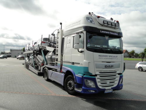 Fleet Daf XF ; 2015 01