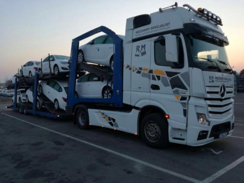 Fleet Mercedes Benz Actros 2012 05