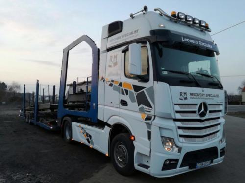 Fleet Mercedes Benz Actros 2012 06