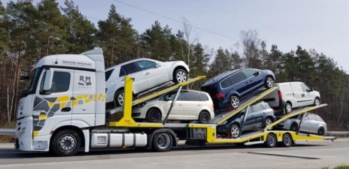 Transport Mercedes Benz Actros 2015 01