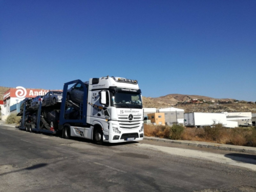 Transport Mercedes Benz Actros 2012 07